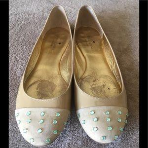 EUC Patient Leather Kate Spade ♠️ Flats